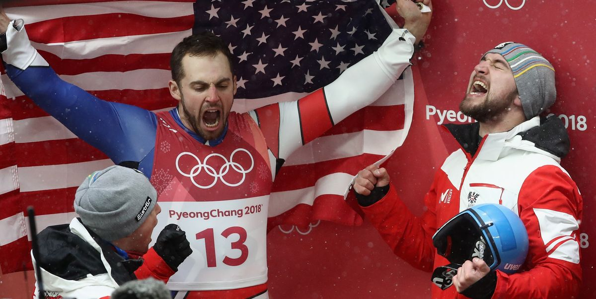 Chris Mazdzer Wins First U.S. Medal in Men's Luge
