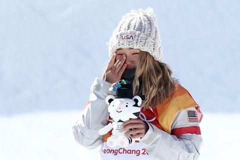 White, Beanie, Knit cap, Snow, Winter, Playing in the snow, Headgear, Bonnet, Cap, Child,
