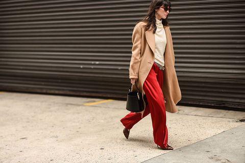 Street Style - New York Fashion Week February 2018 - Day 5