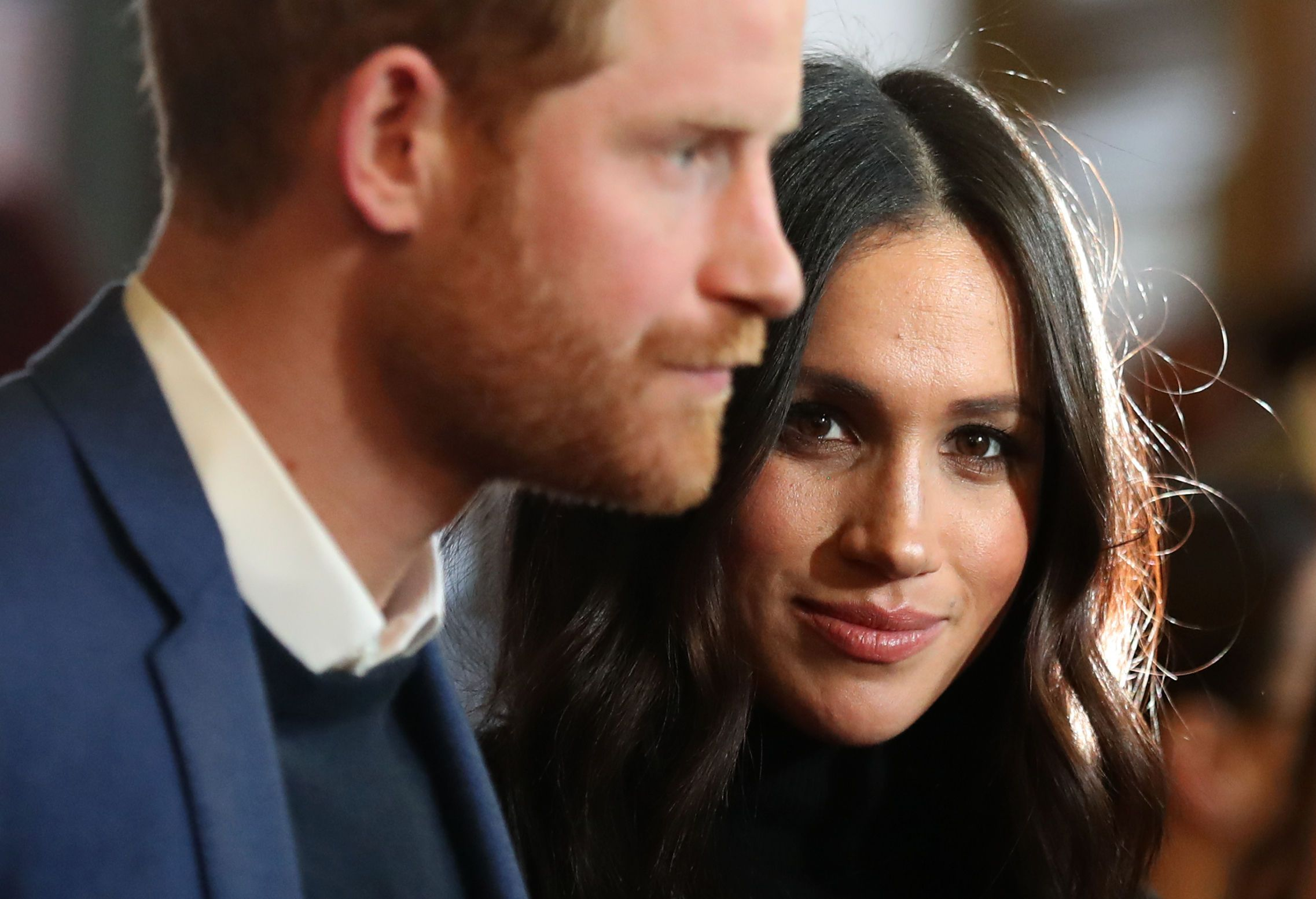 Meghan Markle Looks Cozy and Happy As She Steps Off a Commercial Flight