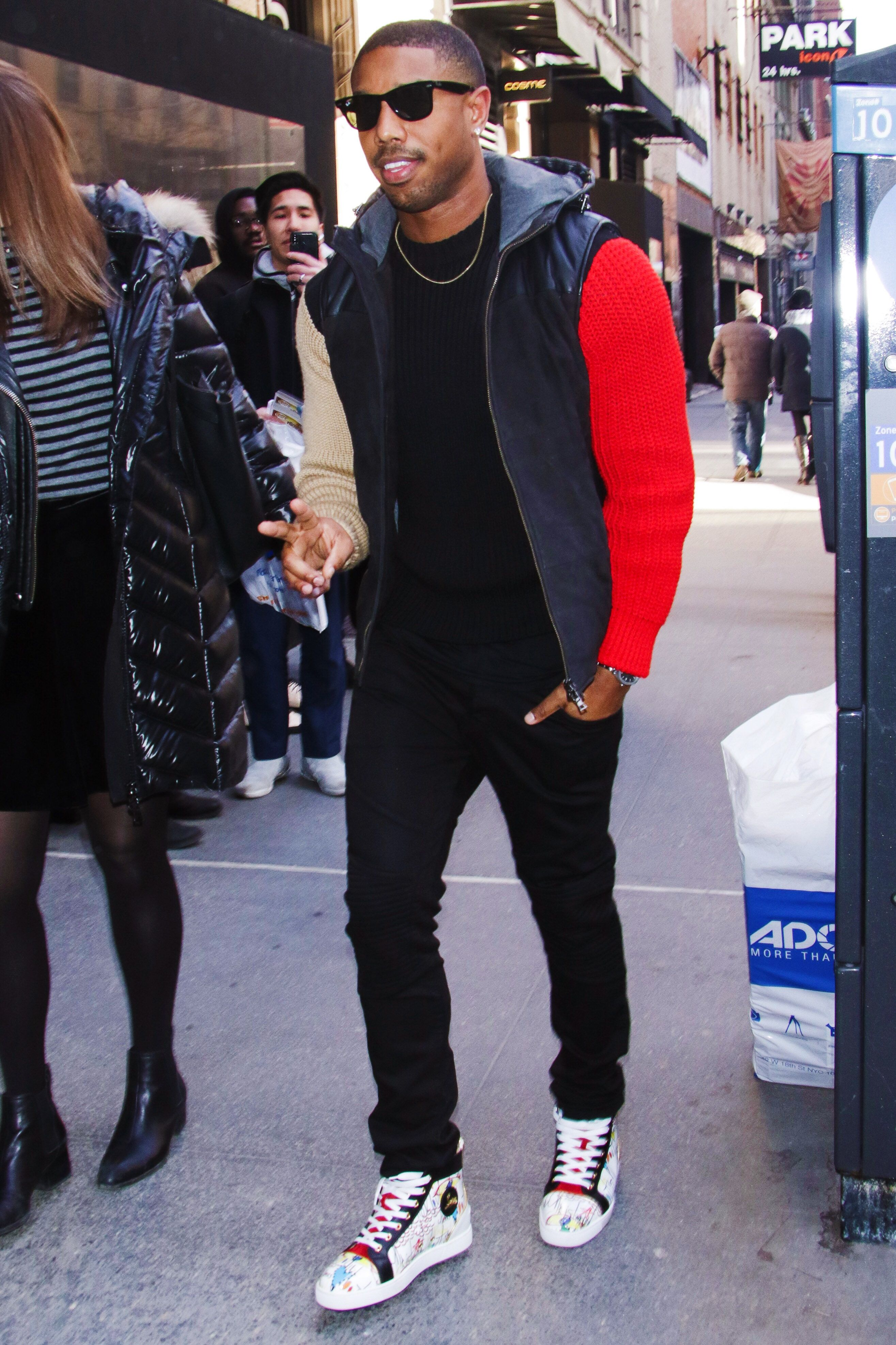 50ee1053560f We Should All Rock Standout Knitwear Like Michael B. Jordan