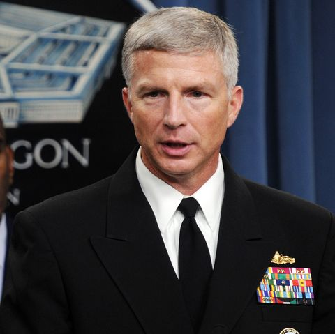 Rear Admiral Craig Faller (R), US Navy R