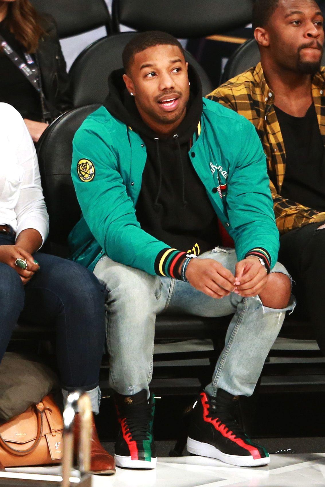 We Should All Rock Standout Knitwear Like Michael B. Jordan