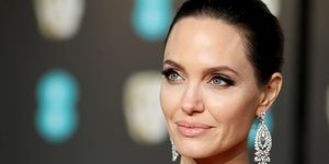 Angelina Jolie EE British Academy Film Awards - Red Carpet Arrivals