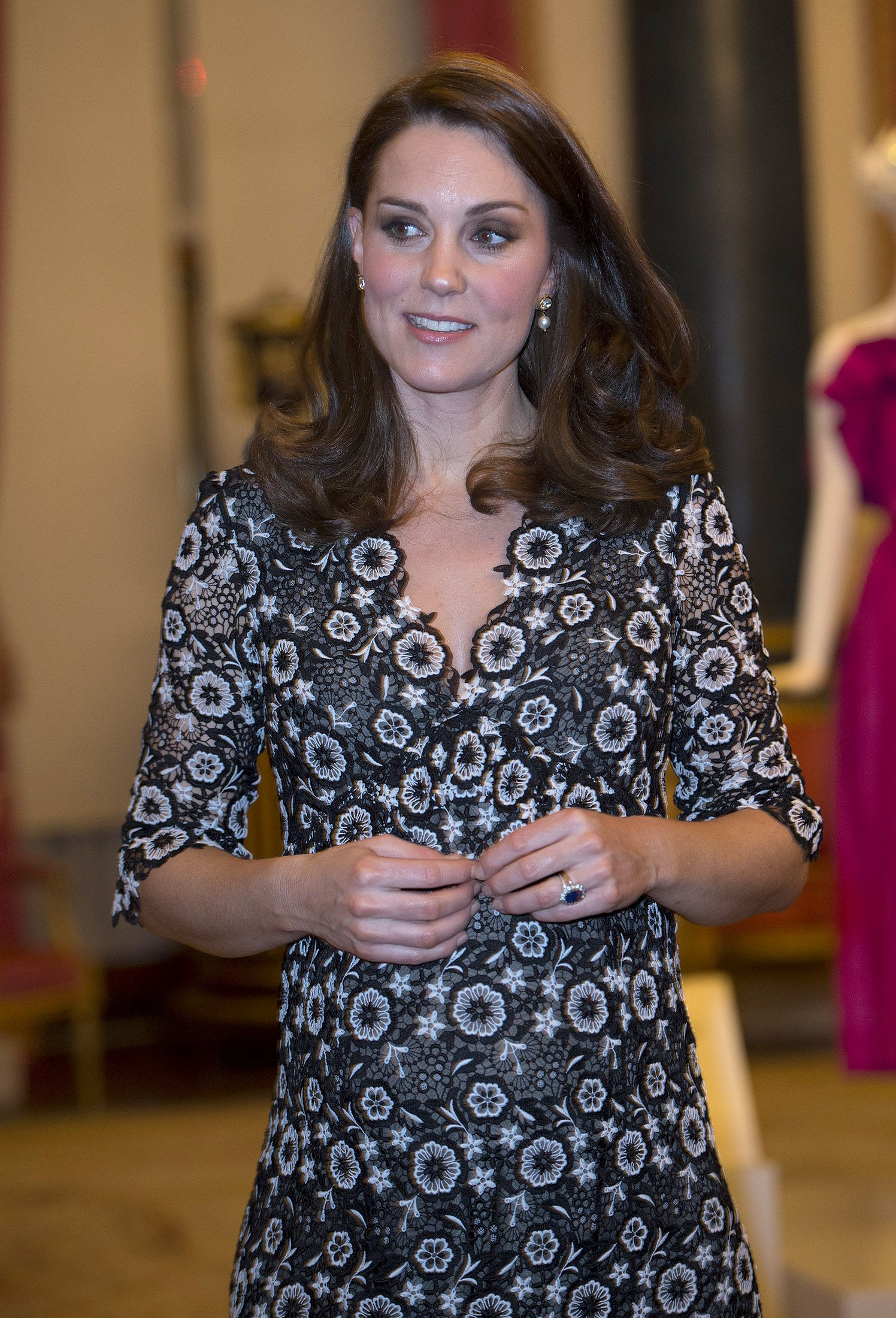 Kate Middleton Wears Black Erdem After BAFTAs Backlash