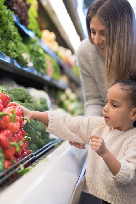 People, Child, Vacation, Plant, Vegetable, Local food, Grocery store, Toddler, Fruit, Tourism,