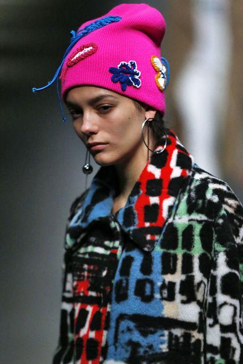 Clothing, Beanie, Cap, Fashion, Street fashion, Headgear, Knit cap, Fashion accessory, Ear, Hat,