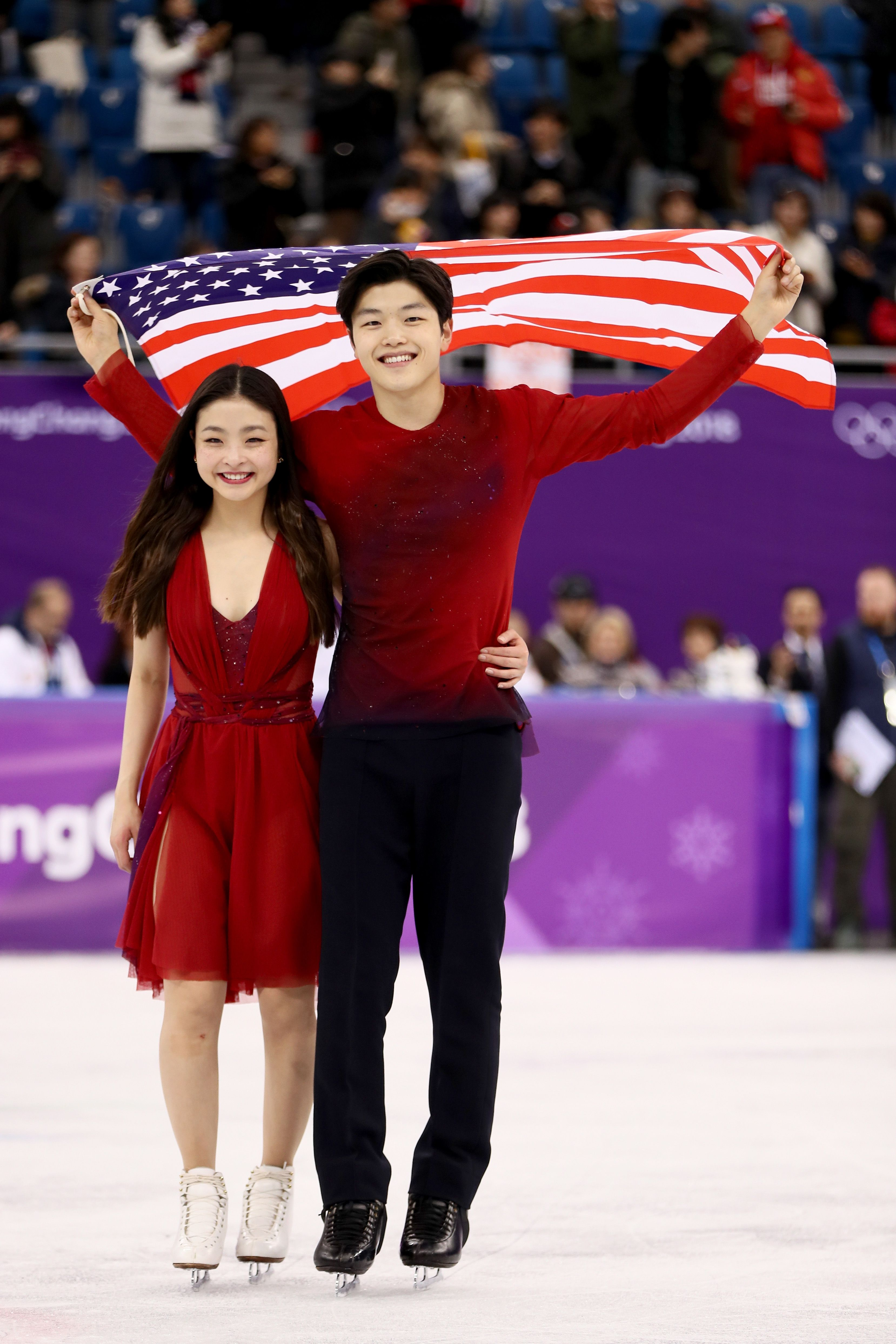 Are the figure skating pairs hookup