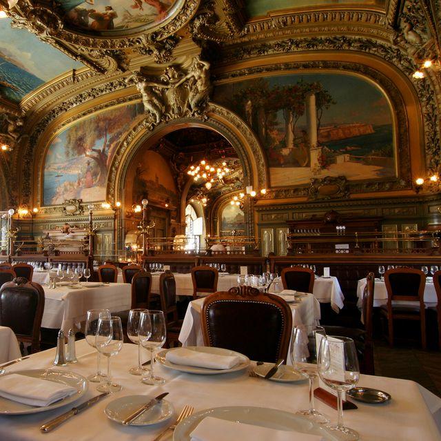 Restaurant Le Train Bleu in Gare de Lyon