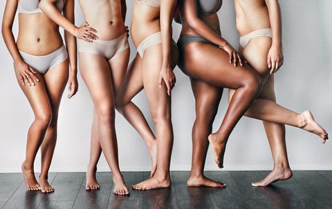 Human leg, Leg, Clothing, Undergarment, Skin, Thigh, Underpants, Briefs, Joint, Muscle,