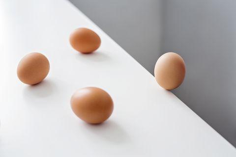 cantidad de huevos diaria