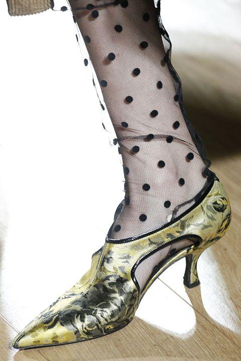 Footwear, High heels, Shoe, Boot, Leg, Design, Knee-high boot, Pattern, Human leg, Tights,