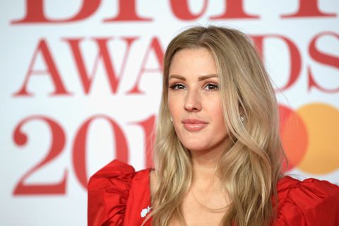 london, england   february 21   editorial use only in relation to the brit awards 2018  ellie goulding attends the brit awards 2018 held at the o2 arena on february 21, 2018 in london, england  photo by john phillipsgetty images