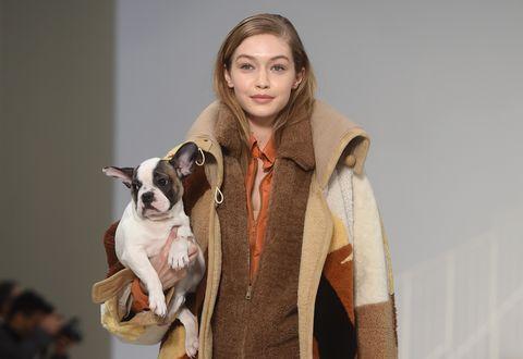 Gigi Hadid Tod's Puppy