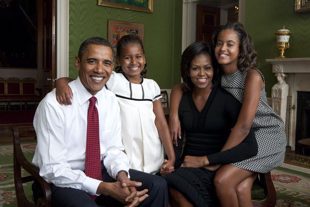 malia obama barack obama michelle obama