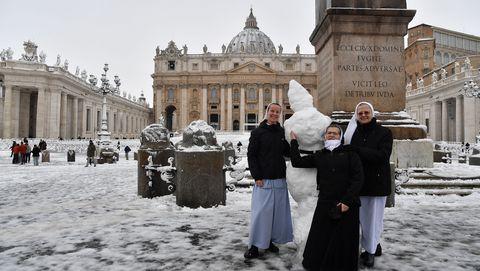 Tourism, Snow, Religious institute,