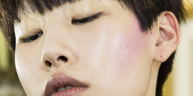 Asian Dude Face Sprayed