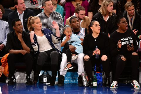30 Times Celebrities Had A Blast Sitting Courtside