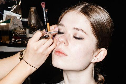 Hair, Eyebrow, Face, Lip, Nose, Eyelash, Cheek, Makeup artist, Beauty, Skin,