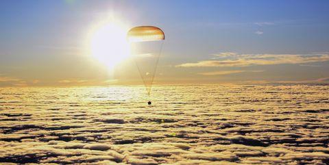 Astronauts cosmonauts return from ISS