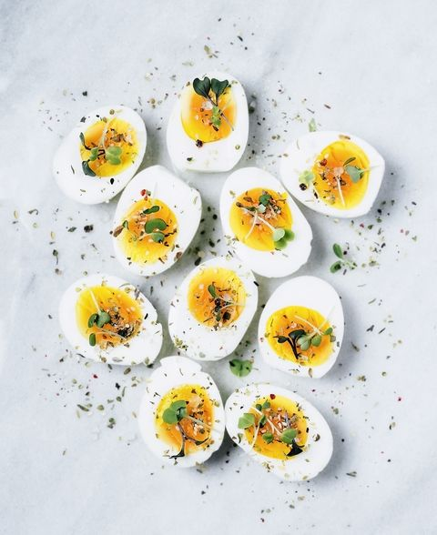 Hard Boiled Eggs Protein