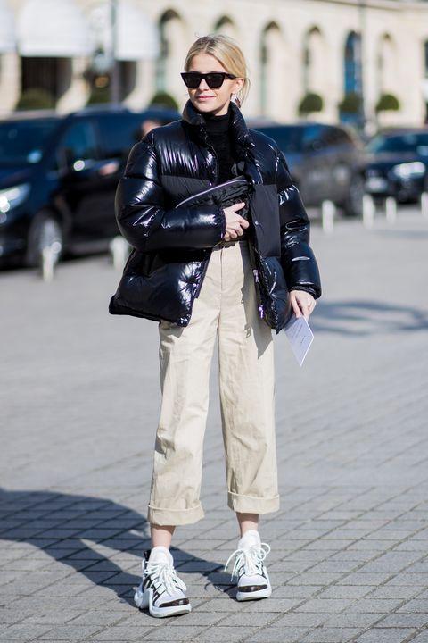 Street fashion, White, Clothing, Photograph, Fashion, Jeans, Snapshot, Footwear, Street, Jacket,