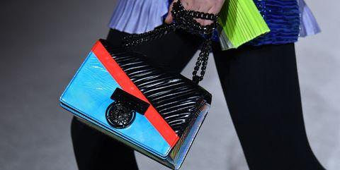 Blue, Handbag, Bag, Electric blue, Cobalt blue, Street fashion, Turquoise, Shoulder, Fashion, Fashion accessory,