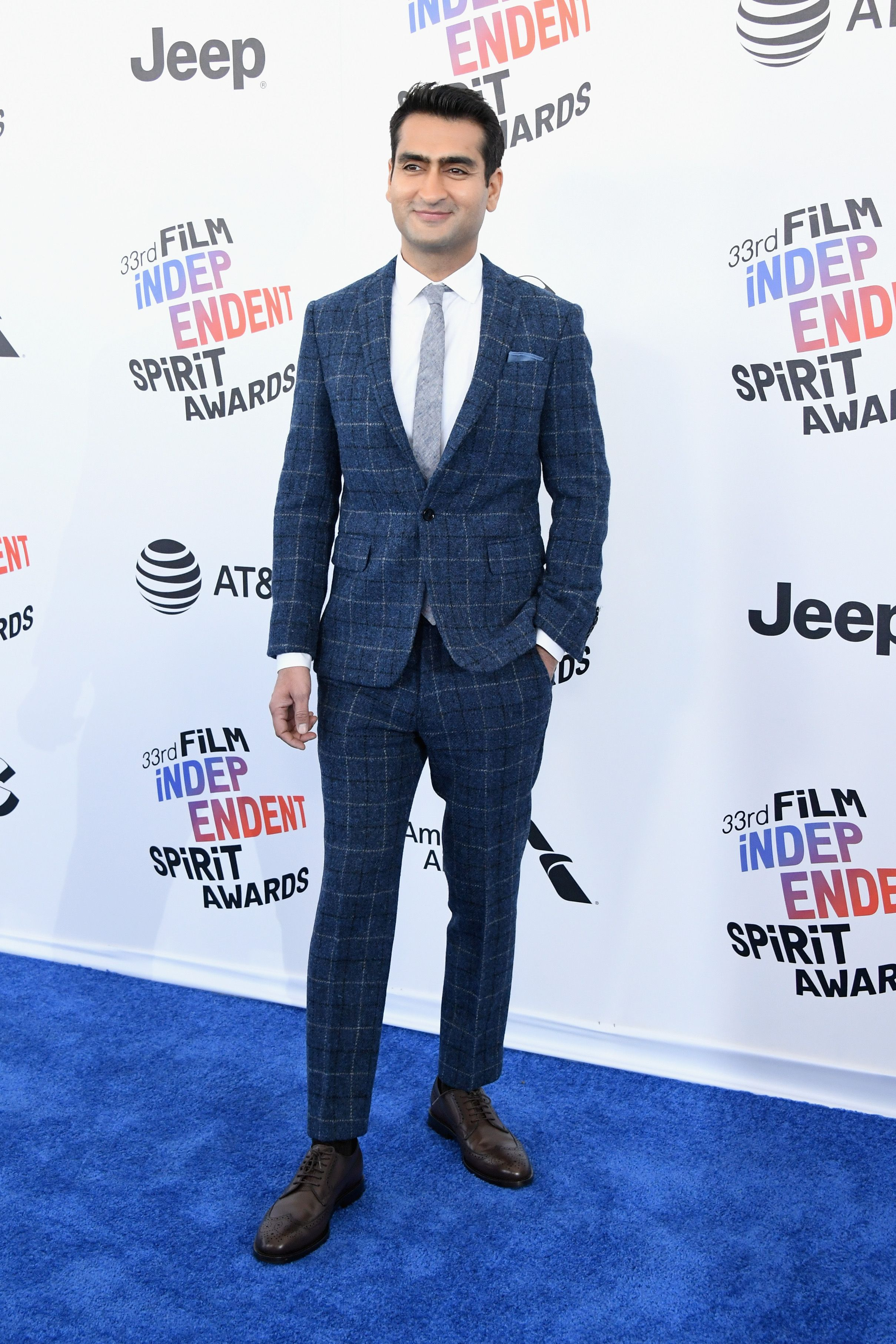 "Kumail Nanjiani For when you need a suit and tie, but not the whole ""suit and tie"" vibe."