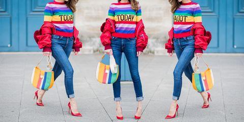 Jeans, Electric blue, Fun, Textile, Denim, Trousers, Street fashion,