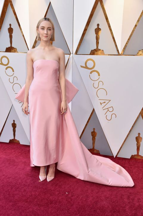 Red carpet, Carpet, Dress, Pink, Clothing, Flooring, Shoulder, Fashion, Gown, Haute couture,