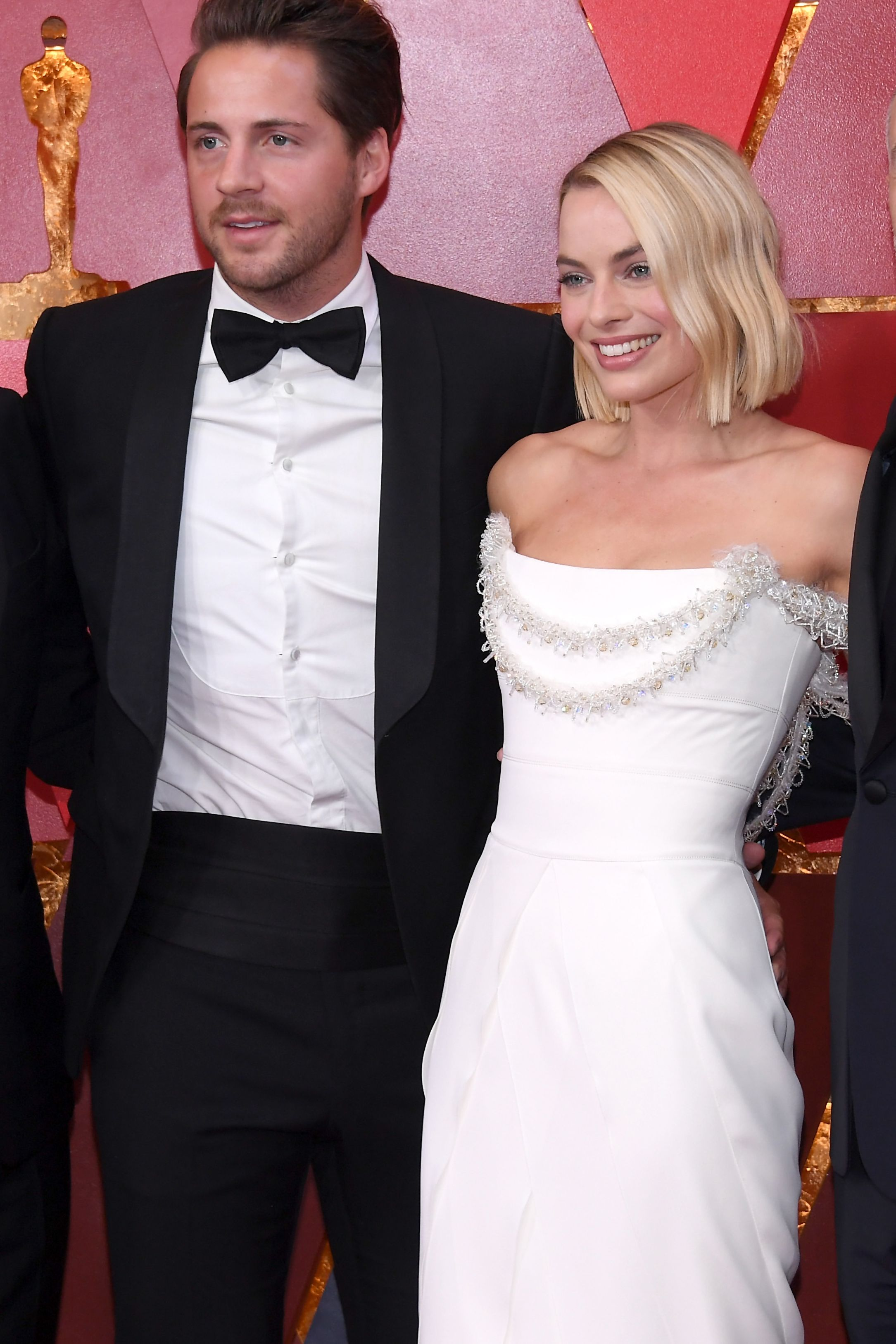 Tom Ackerley and Margot Robbie