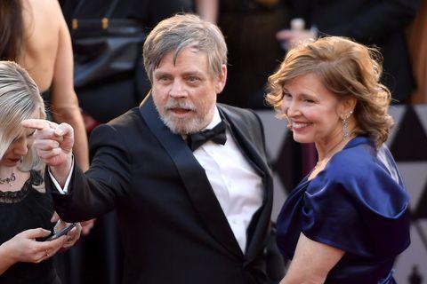 Mark Hamill and Marilou Hamill at the 2018 Oscars