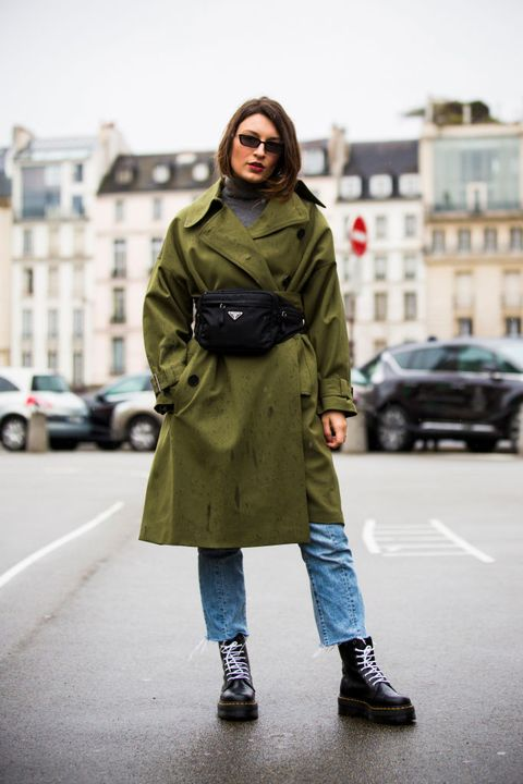 Coat, Photograph, Trench coat, Clothing, Street fashion, Fashion, Outerwear, Standing, Snapshot, Overcoat,