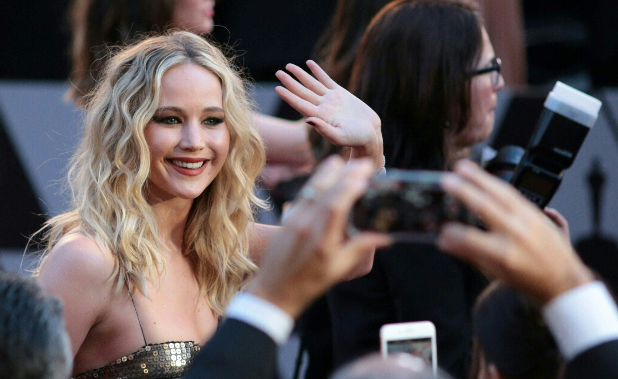 Jennifer Lawrence at the 2018 Oscars