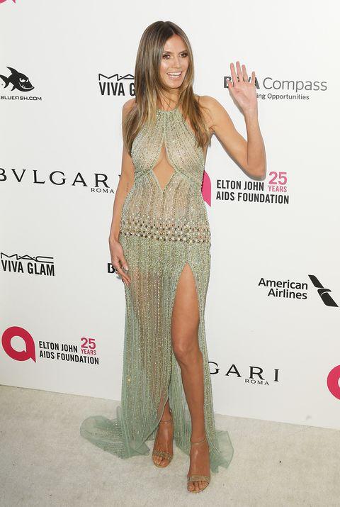 Oscars naked dresses
