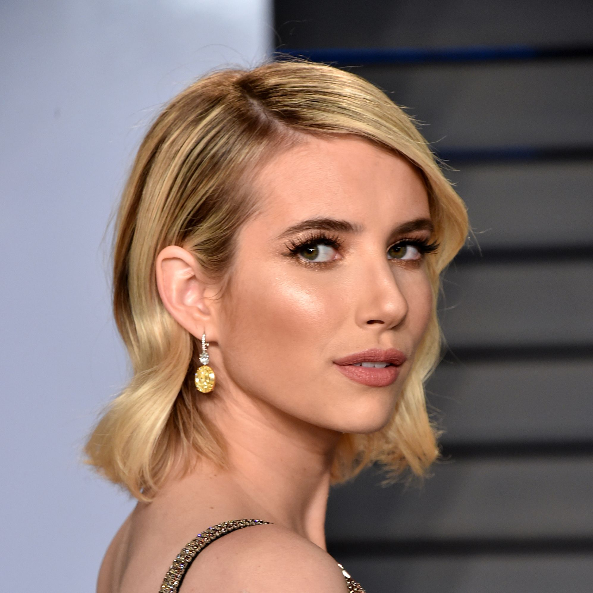 Emma Roberts Went Back to Brunette and Looks Better Than Ever