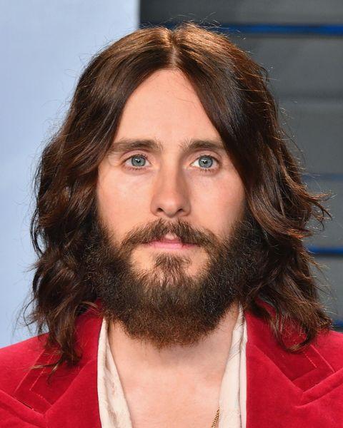 Facial hair, Hair, Beard, Moustache, Chin, Hairstyle, Forehead, Human, Brown hair, Long hair,