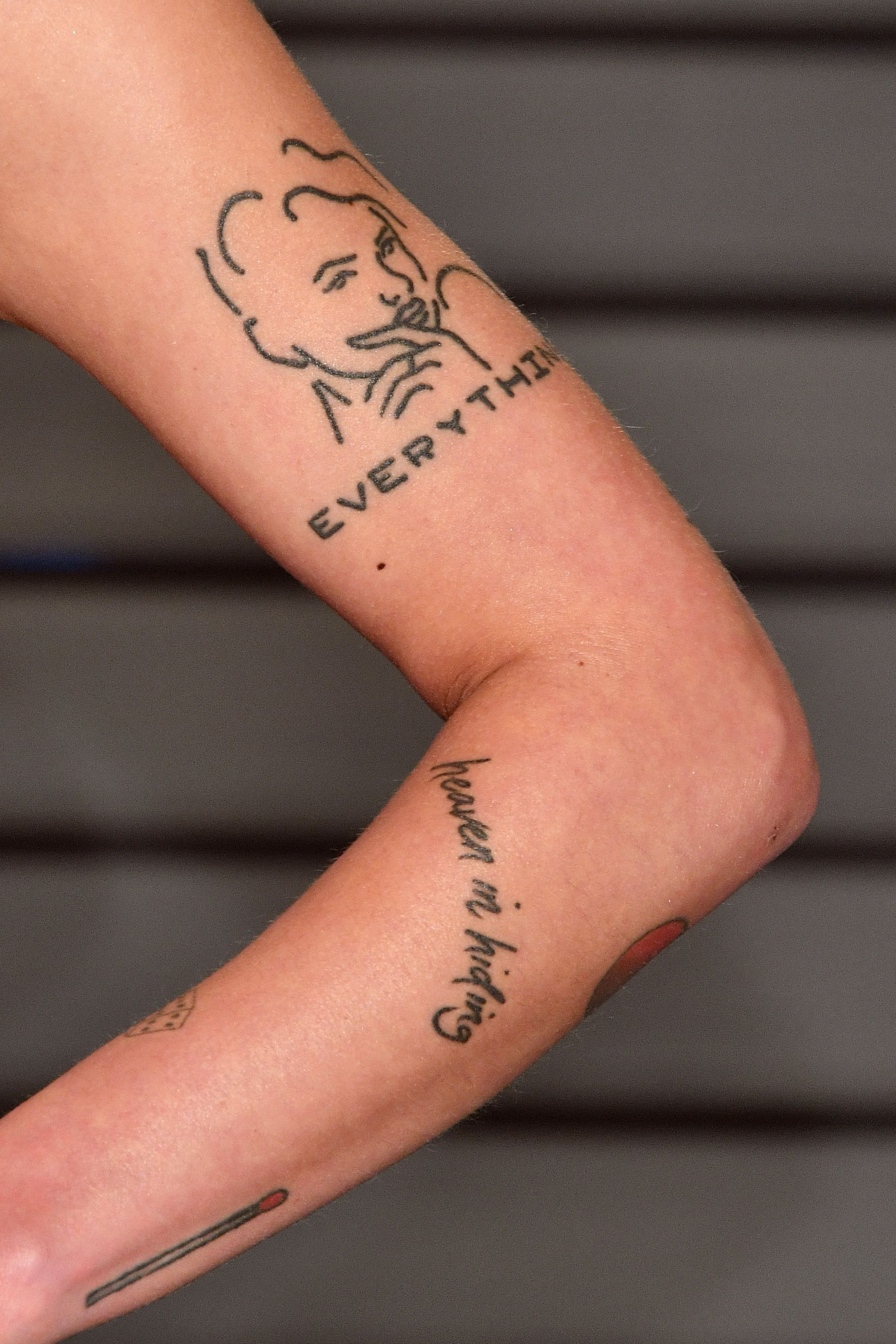 Halsey's Tattoos - Photos And Meaning Of Halsey's Tattoos