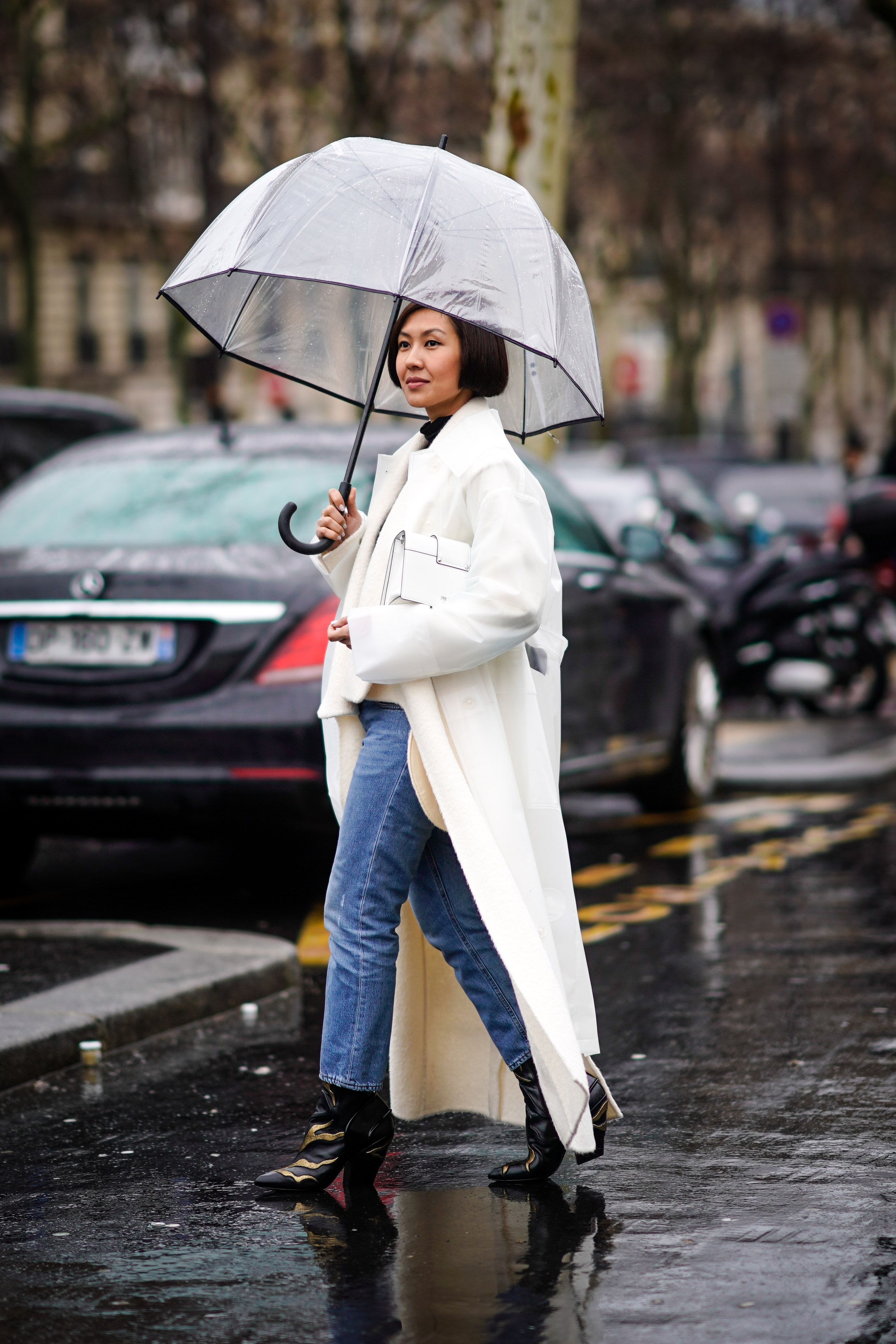 5 Rainy,Day Outfits You Can Actually Leave the House In