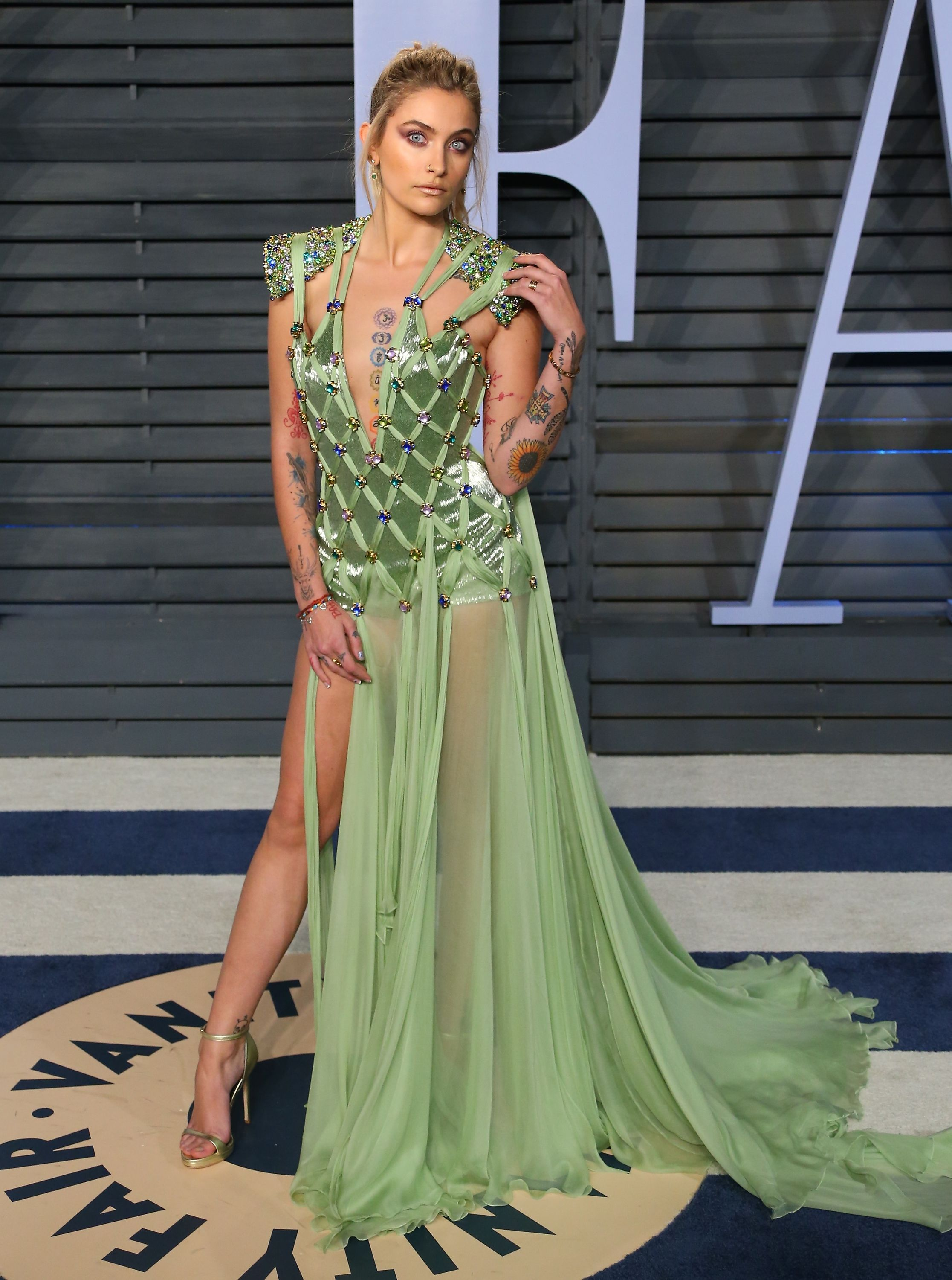 9b1b3dfd The Most Naked Red Carpet Outfits of 2018 - Celebs in Sheer, Low-Cut, and  Revealing Gowns