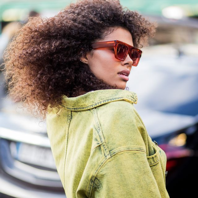paris, france   march 05 tina kunakey is seen outside stella mccartney during paris fashion week womenswear fallwinter 20182019 on march 5, 2018 in paris, france photo by christian vieriggetty images
