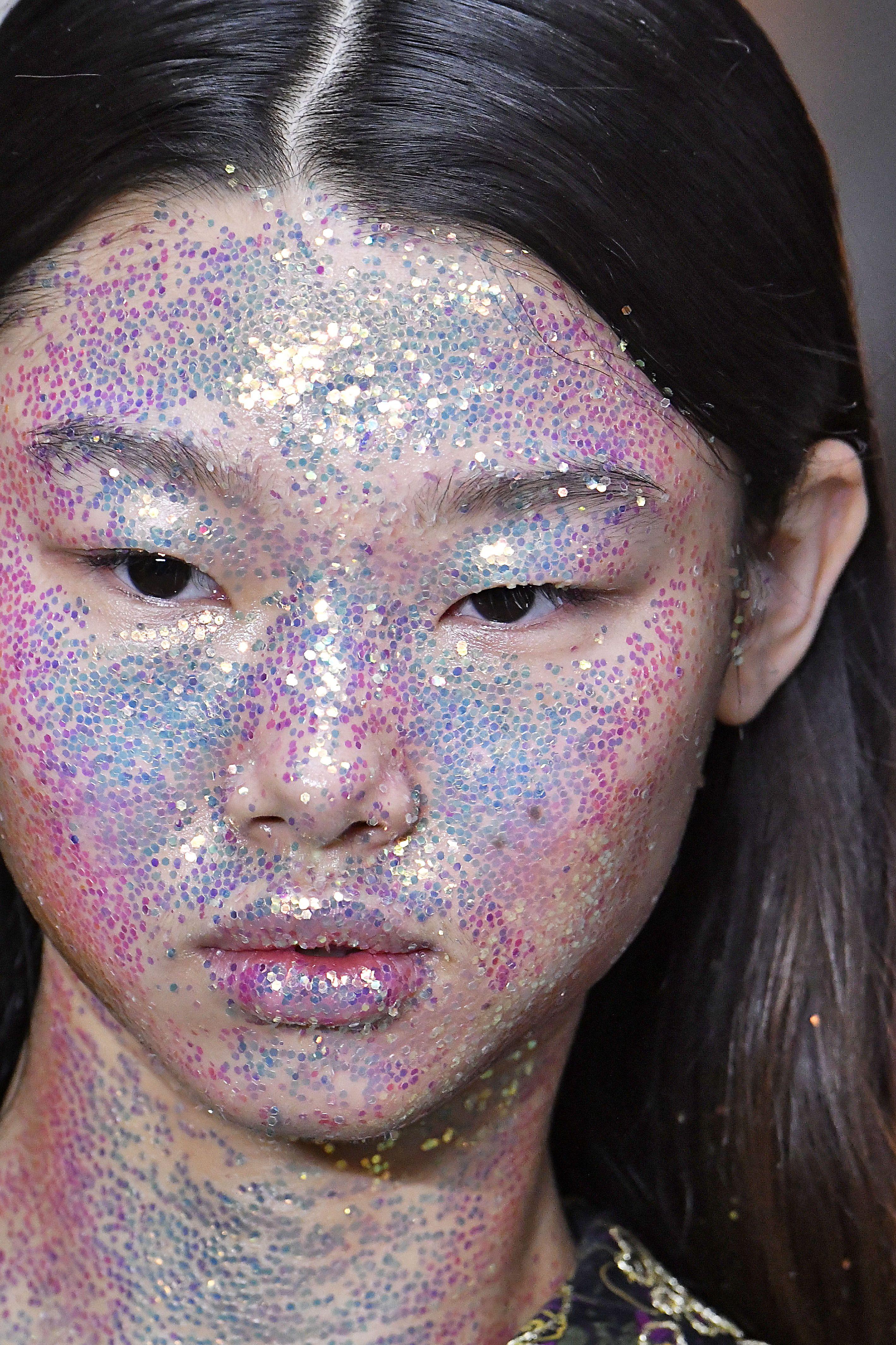 Glitter Face
