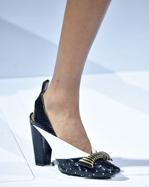 Footwear, White, Shoe, Fashion, Leg, High heels, Human leg, Ankle, Sandal, Haute couture,