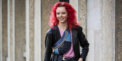 Plaid, Tartan, Street fashion, Clothing, Pattern, Fashion, Red, Snapshot, Jacket, Design,