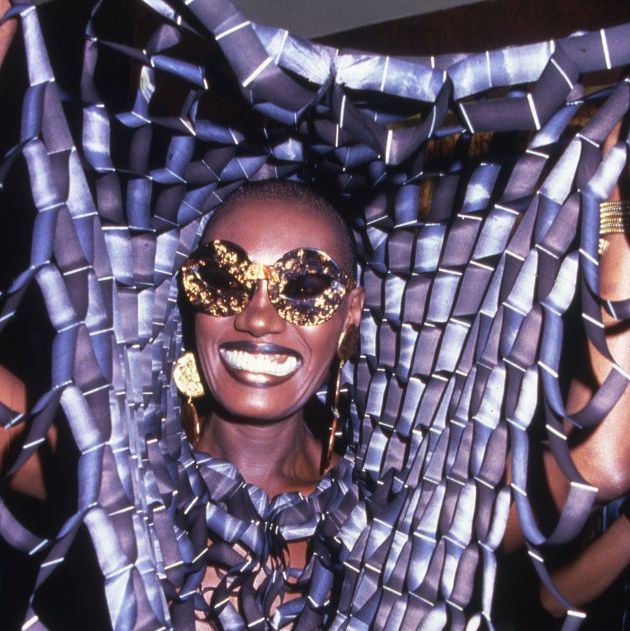 actress and singer grace jones smiles while partying at studio 54 in new york, 1978 photo by rose hartmangetty images