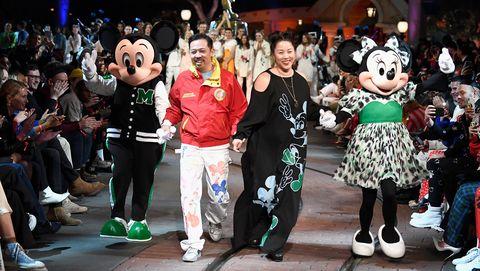Opening Ceremony, Disney Land, 迪士尼樂園, 迪士尼, 2018秋冬時裝大秀