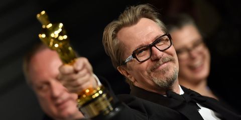 Gary Oldman Darkest Hour Flying Horse Oscars