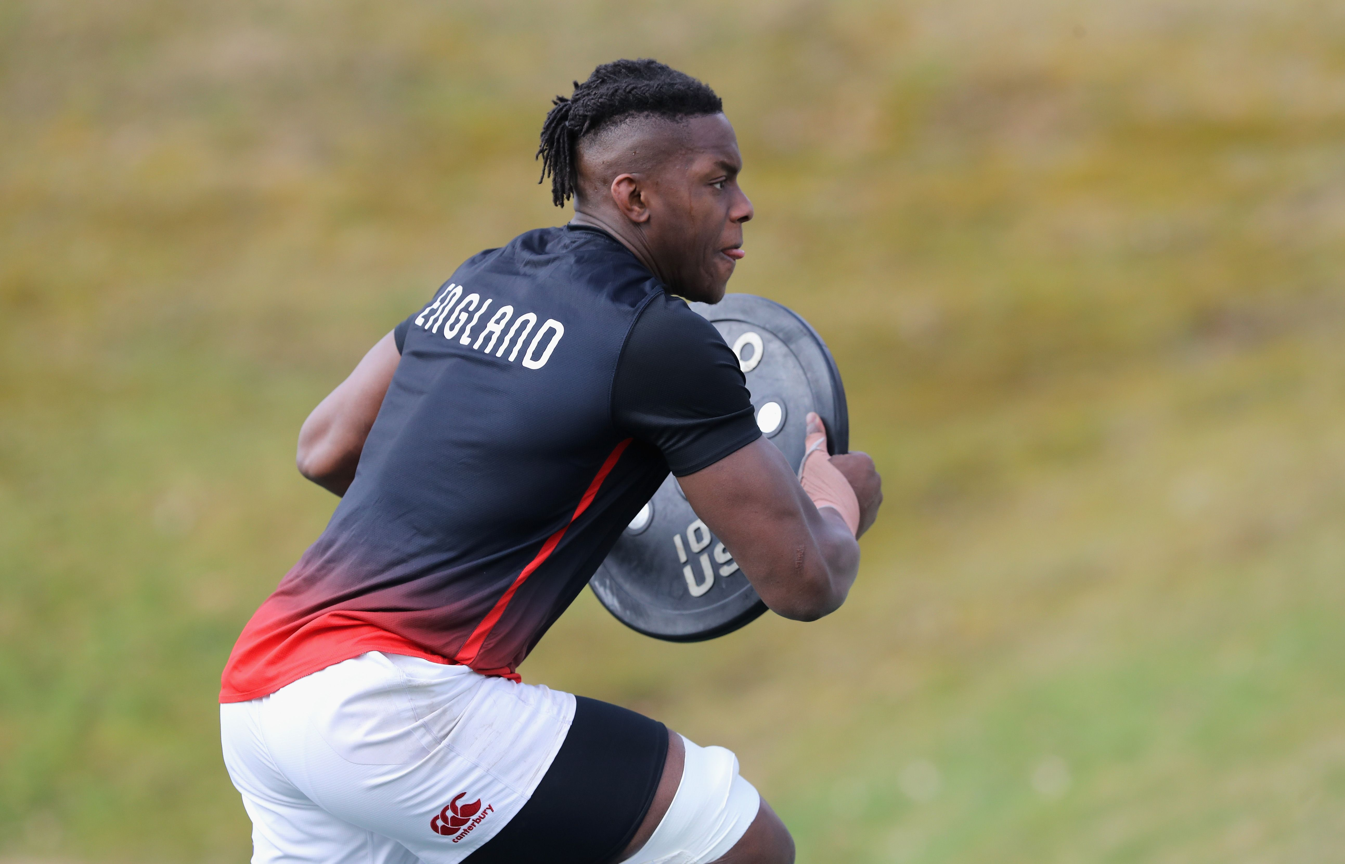How England Rugby's Maro Itoje Built His Body