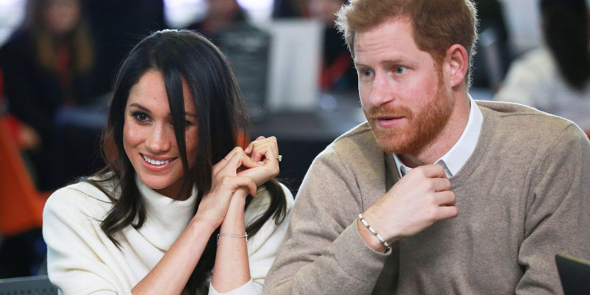 Prince Harry and Meghan Markle's Private Plane Was Struck by Lightning Last Month