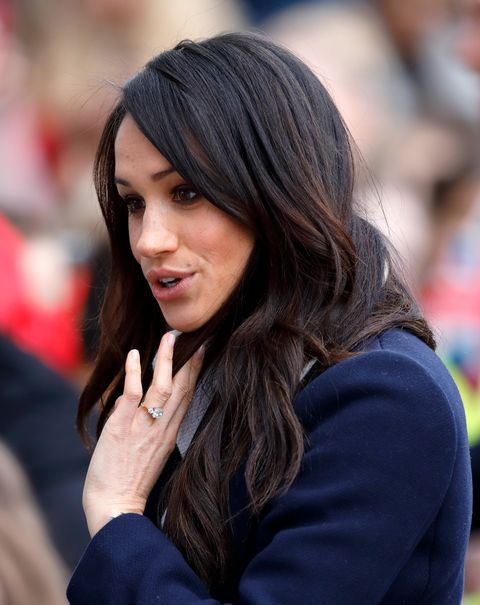 Meghan Markle Just Got Red Highlights Meghan Markle Hair